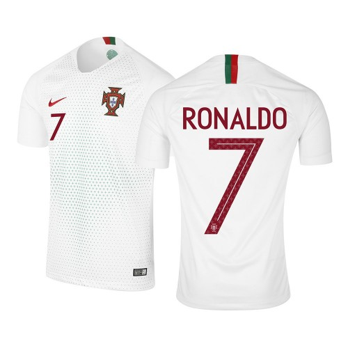 MAILLOT RONALDO. PORTUGAL EXTERIEUR 2018-2019