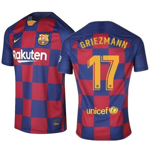 MAILLOT FC BARCELONE GRIEZMANN DOMICILE 2019-2020