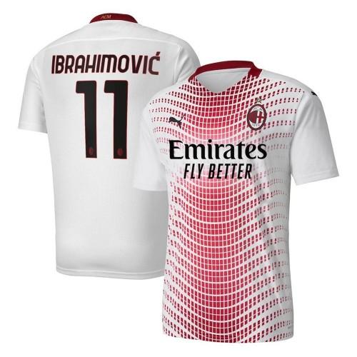 MAILLOT MILAN AC EXTERIEUR IBRAHIMOVIC 2020-2021