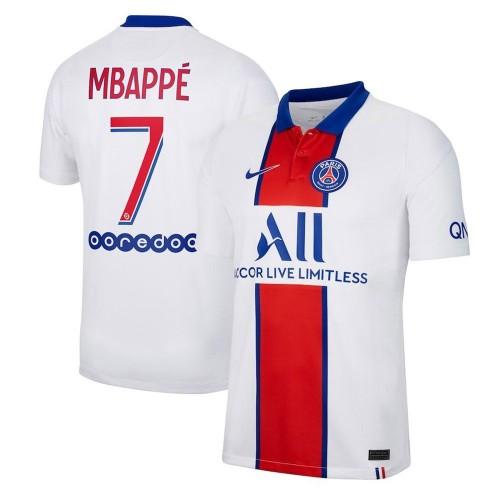 MAILLOT PSG EXTERIEUR MBAPPE 2020-2021