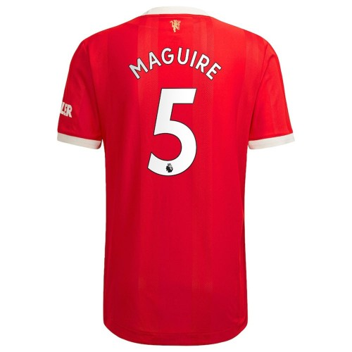 MAILLOT MANCHESTER UNITED DOMICILE MAGUIRE 2021-2022
