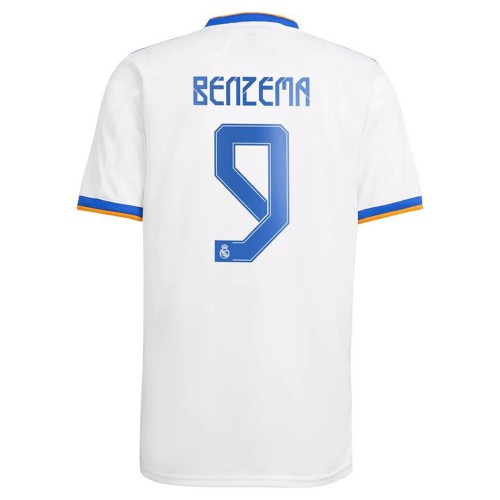 MAILLOT REAL MADRID BENZEMA DOMICILE 2021-2022