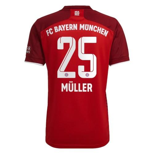 MAILLOT BAYERN MUNICH DOMICILE MULLER 2021-2022