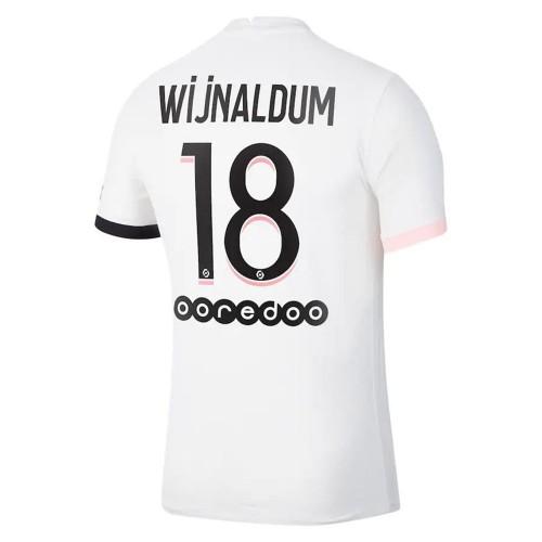 MAILLOT PSG EXTERIEUR WIJNALDUM 2021-2022