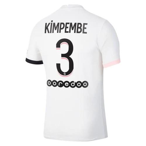 MAILLOT PSG EXTERIEUR KIMPEMBE 2021-2022