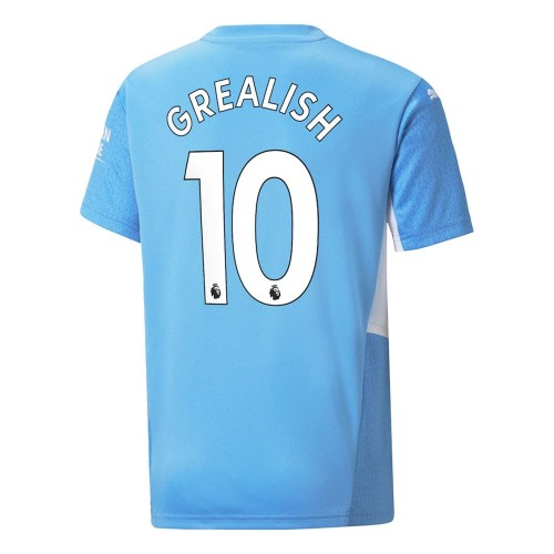 MAILLOT MANCHESTER CITY DOMICILE GREALISH 2021-2022