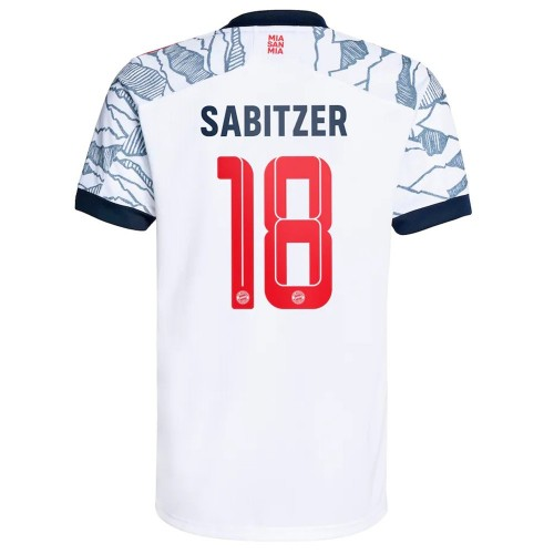 MAILLOT BAYERN MUNICH THIRD SABITZER 2021-2022